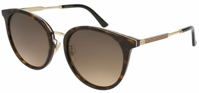 Gucci GG0204SK-002 56 GG0204SK Ladies  Sunglasses