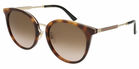 Gucci GG0204SK-003 56 GG0204SK Ladies  Sunglasses