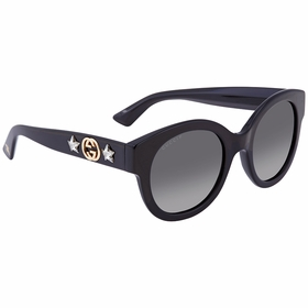 Gucci GG0207S 007 51 GG0207 Ladies  Sunglasses