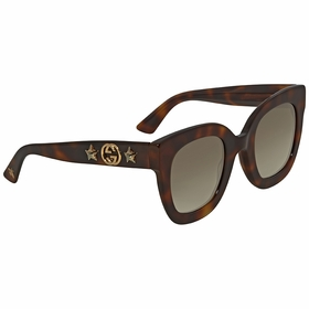 Gucci GG0208S 003 49  Ladies  Sunglasses