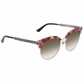 Gucci GG0222SK-005 56 GG0222SK Ladies  Sunglasses