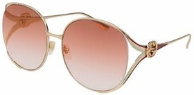 Gucci GG0225S 005 63 GG0225 Ladies  Sunglasses