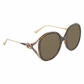 Gucci GG0226S 002 56  Ladies  Sunglasses