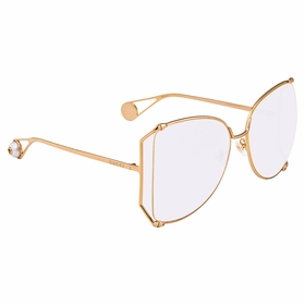 Gucci GG0252S 001 63 GG0252 Ladies  Sunglasses