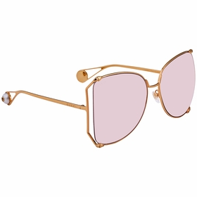 Gucci GG0252S 004 63 GG0252 Ladies  Sunglasses