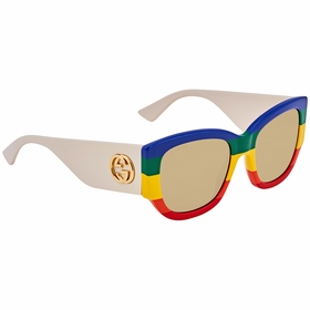 Gucci GG0276S 006 53 GG0276 Ladies  Sunglasses