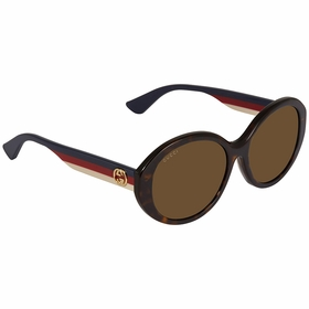 Gucci GG0279SA 002 57 GG0279SA Ladies  Sunglasses
