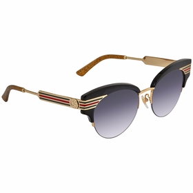 Gucci GG0283S 001 53 GG0283 Ladies  Sunglasses