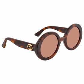 Gucci GG0319S 002 52 GG0319 Ladies  Sunglasses