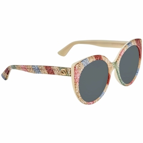 Gucci GG0325S 004 55 GG0325 Ladies  Sunglasses