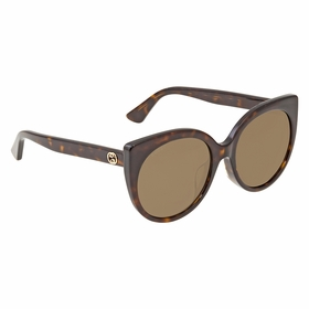 Gucci GG0325SA 002 57 GG0325SA Ladies  Sunglasses