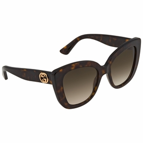 Gucci GG0327S 002 52  Ladies  Sunglasses