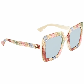 Gucci GG0328S 004 53 GG0328 Ladies  Sunglasses