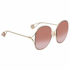 Gucci GG0362S 002 57 GG0362 Ladies  Sunglasses