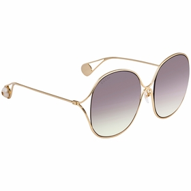 Gucci GG0362S 003 57 GG0362 Ladies  Sunglasses