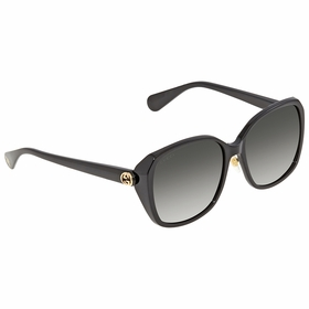 Gucci GG0371SK 001 57 Injection Ladies  Sunglasses
