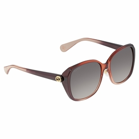 Gucci GG0371SK 003 57 Injection Ladies  Sunglasses