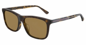 Gucci GG0381SA 002 56  Mens  Sunglasses