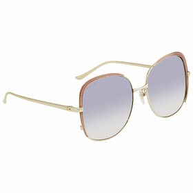 Gucci GG0400S 001 58  Ladies  Sunglasses
