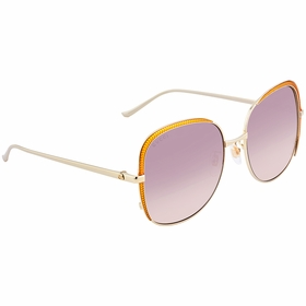 Gucci GG0400S 002 58  Ladies  Sunglasses