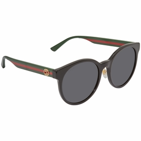 Gucci GG0416SK 002 55 GG0416SK Ladies  Sunglasses