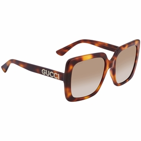 Gucci GG0418S 003 54 GG0418 Ladies  Sunglasses