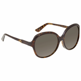 Gucci GG0489SA00258 GG0489SA Ladies  Sunglasses