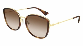 Gucci GG0606SK-003 56  Ladies  Sunglasses