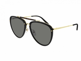 Gucci GG0672S-001 58  Mens  Sunglasses