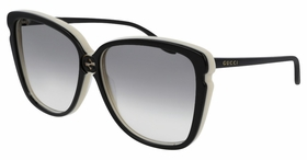 Gucci GG0709S-004 63  Ladies  Sunglasses
