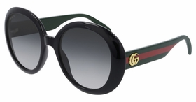 Gucci GG0712S-001 55  Ladies  Sunglasses