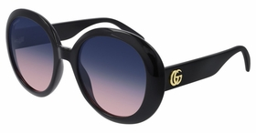 Gucci GG0712S-002 55  Ladies  Sunglasses