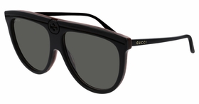 Gucci GG0732S-001 61  Ladies  Sunglasses