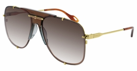 Gucci GG0739S-002 63  Ladies  Sunglasses