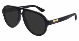 Gucci GG0767S-001 57  Mens  Sunglasses