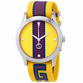 Gucci YA1264069 G-Timeless Unisex Quartz Watch