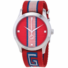 Gucci YA1264070 G-Timeless Unisex Quartz Watch