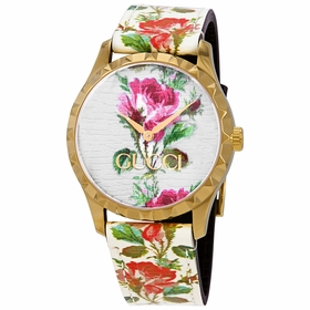 Gucci YA1264084 G-Timeless Ladies Quartz Watch