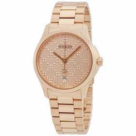 Gucci YA126482 G-Timeless Ladies Quartz Watch