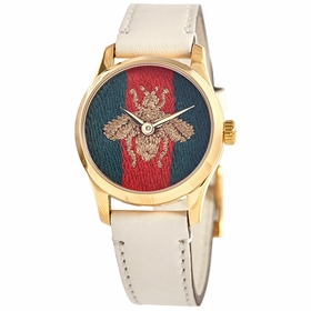 Gucci YA1265009 G-Timeless Ladies Quartz Watch