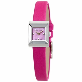 Gucci YA128533 G-Frame Ladies Quartz Watch
