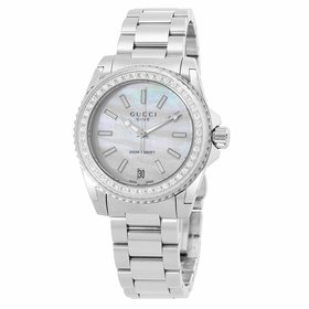 Gucci YA136406 Dive Ladies Quartz Watch