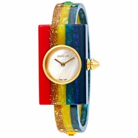 Gucci YA143520 Plexiglas Ladies Quartz Watch
