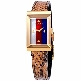 Gucci YA147402 G-Frame Ladies Quartz Watch