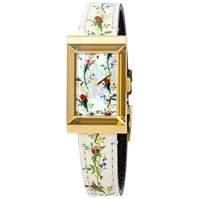 Gucci YA147407 G-Frame Ladies Quartz Watch