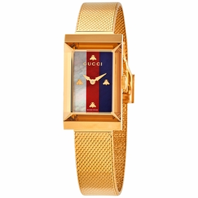 Gucci YA147410 G-Frame Ladies Quartz Watch