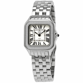 GV2 by Gevril 12100B Milan Ladies Quartz Watch
