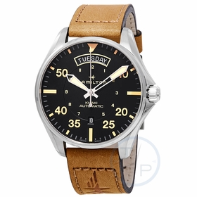 Hamilton H64645531 Khaki Pilot Day Date Mens Automatic Watch