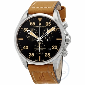 Hamilton H76722531 Khaki Pilot Mens Chronograph Quartz Watch