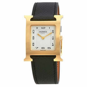 Hermes 036784WW00 H Hour Ladies Quartz Watch